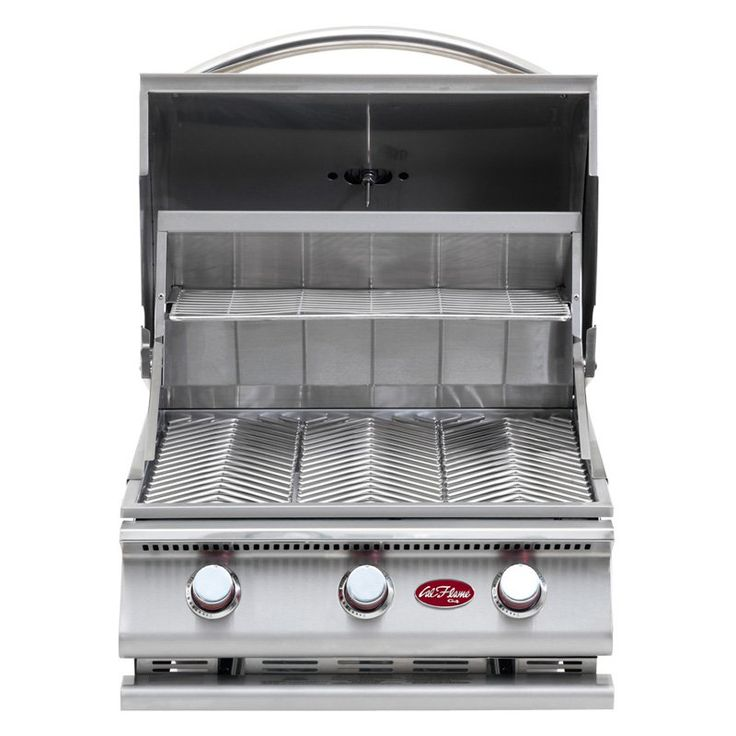 Cal Flame Gourmet Series 3-Burner G3 Built-In Gas Barbecue Grill - BBQ09G03-HN