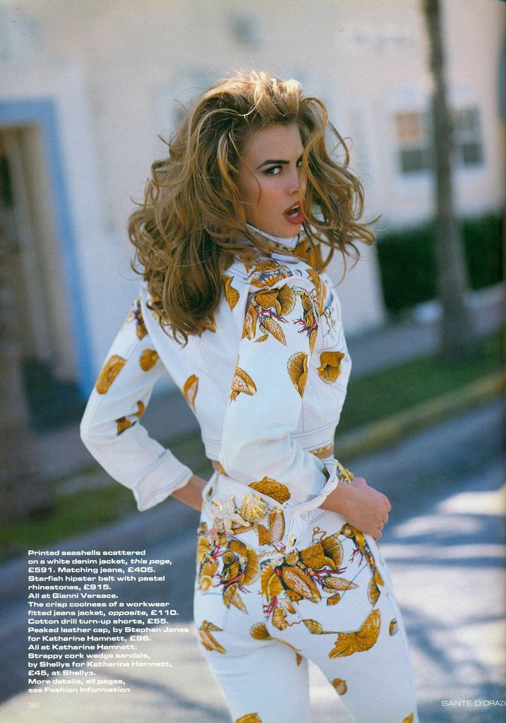 #NikiTaylor for Versace, 1991