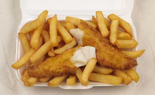 Aussie fish and chips