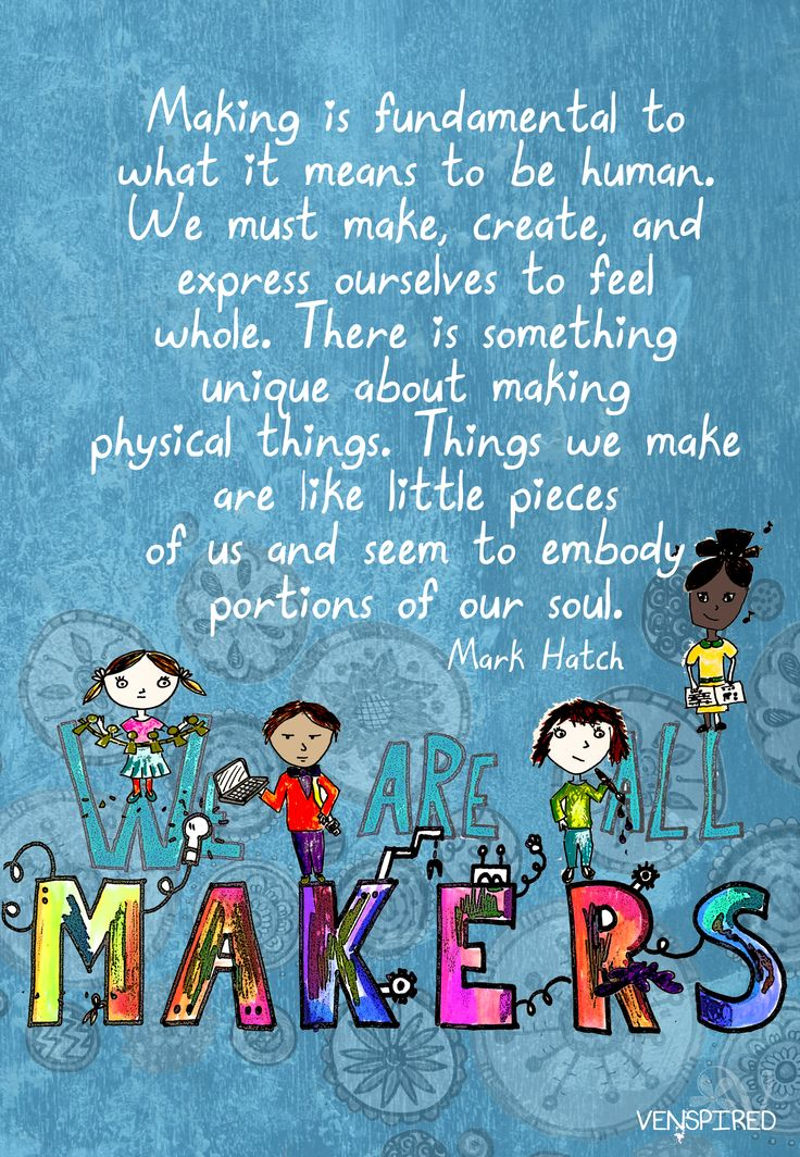 Making is not just about STEAM, reserved for science class, or even meant to be just an activity for after school. Making across the curriculum can change the way students are thinking, interacting, collaborating, and engaged. Gather some simple materials, offer students the chance to design, cr
