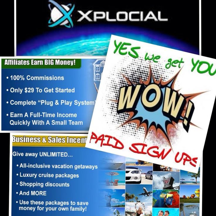 We Get You Paid Sign Ups!! Come and Join Our Team Today! Start Getting 100% Commissions Montly!!