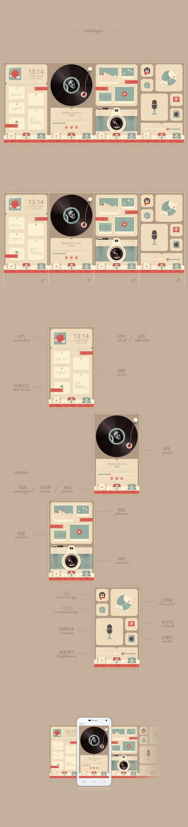 查看《vintage》#vintage #mobile #design
