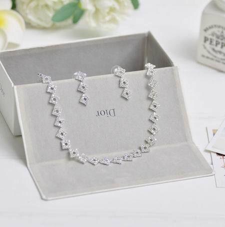 ГР Ювелирные Изделия Оптом Свадебные Украшения Для Женщин Элегантный Горный Хрусталь Ожерелье Для Женщин