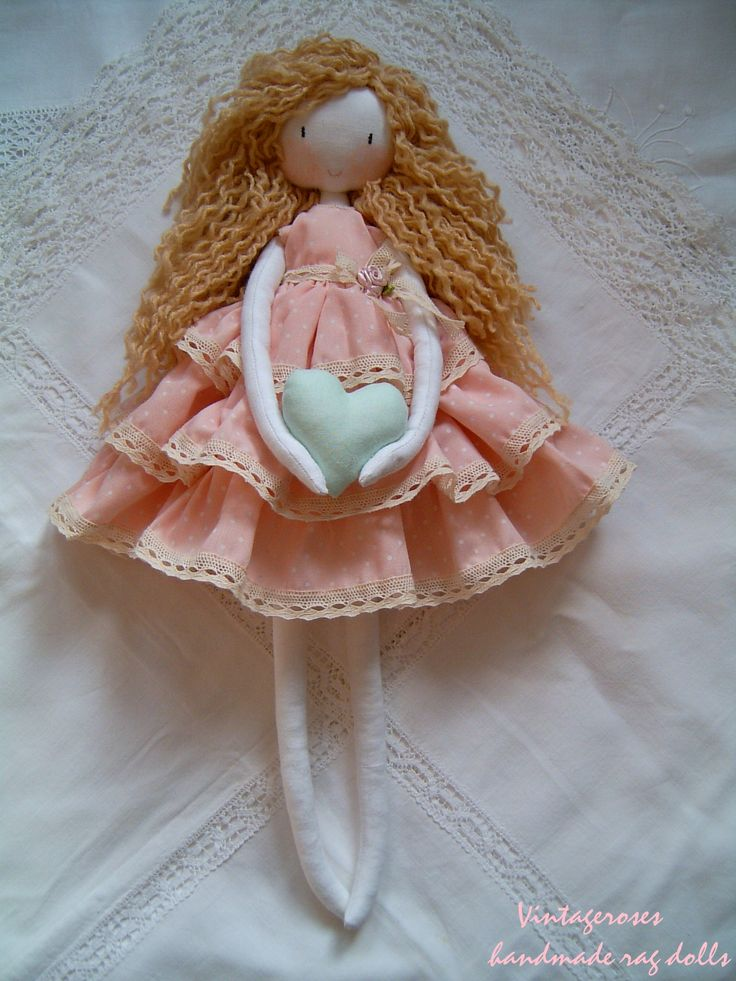 fabric doll, Handmade rag dolls.soft doll, main poupée de chiffon, waldorf doll, toys, soft cloth doll,handgefertigte Stoffpuppe