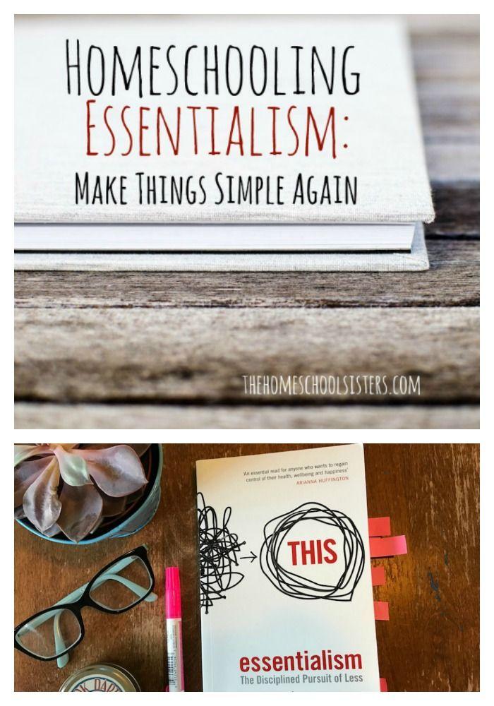 Homeschooling Essentialism: Make Things Simple Again | The Homeschool Sisters Podcast