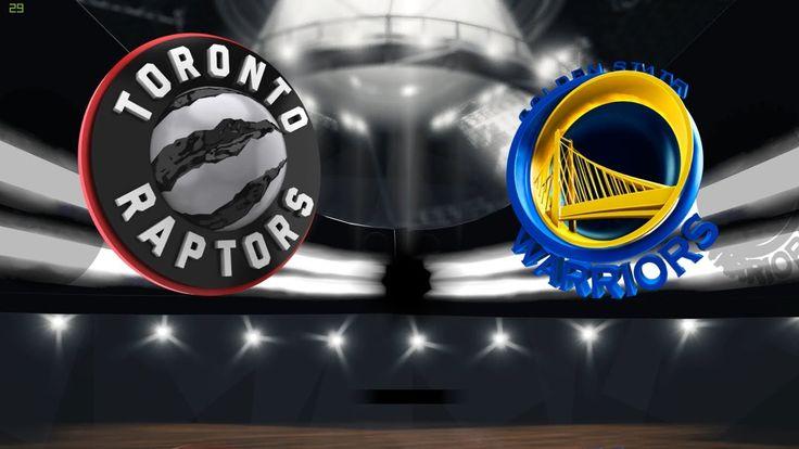 Golden States Warriors VS Toronto Raptors MyLeague schedule @ 패니TV Penny...