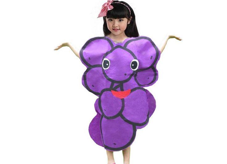 Halloween volwassen kinderen groente-en modeling milieu modeshow ouder-kind prestaties kostuums