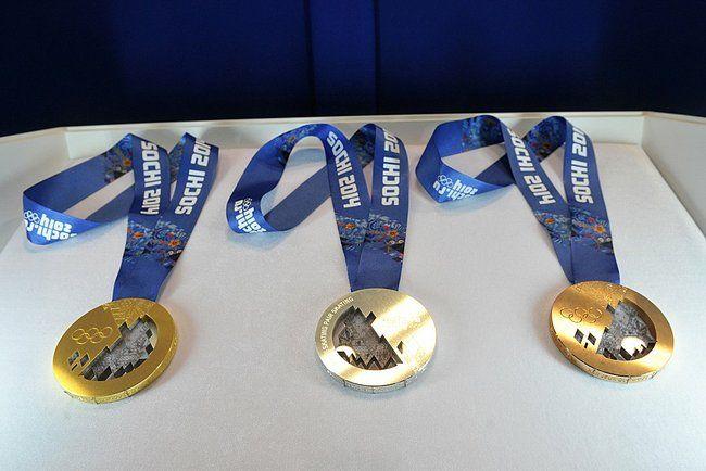 Medals Winter Olympics - SOCHI 2014