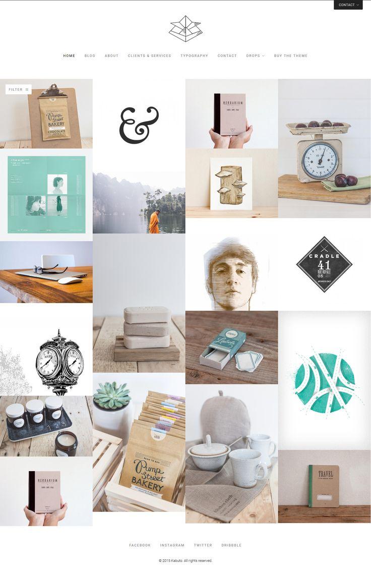 121 Best Wordpress Portfolio Themes Images On Pinterest Website