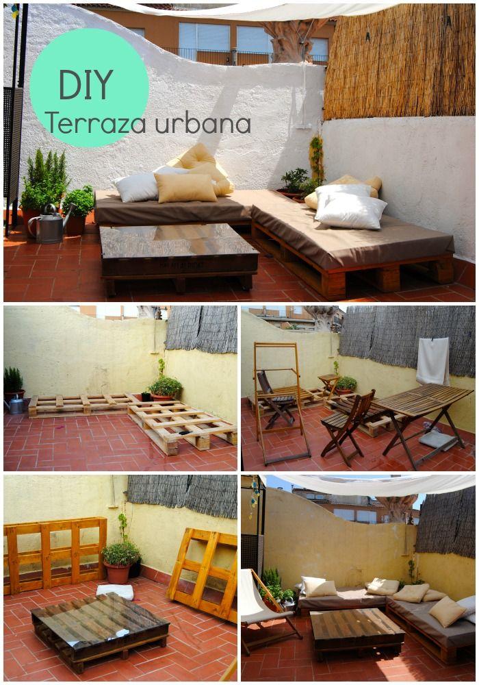 Terraza urbana aire fresco terrazas pinterest for Decoraciones para patios casas