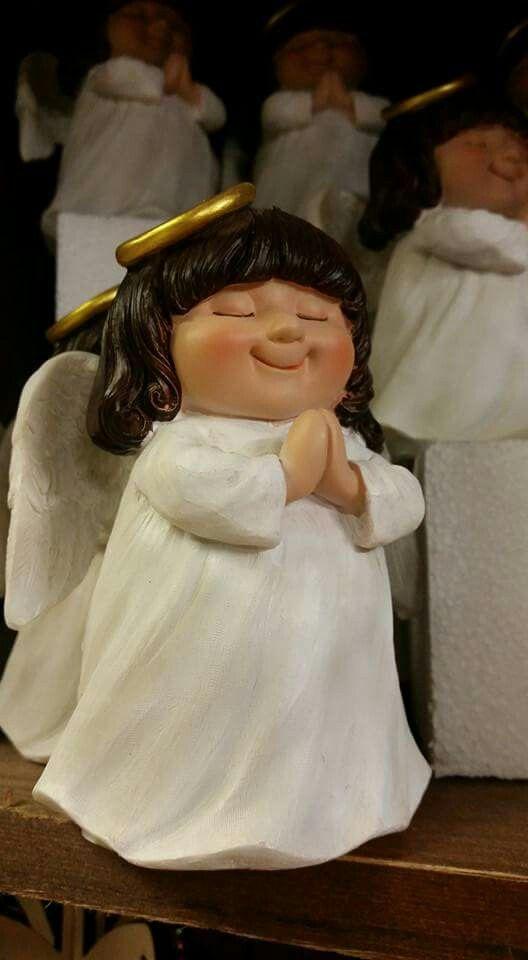 Some wonderful Angels at Santa's Magical Grotto & Christmas Shop Coalisland