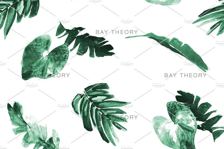 Tropical Paint Pattern Bundle by BayTheory on @creativemarket