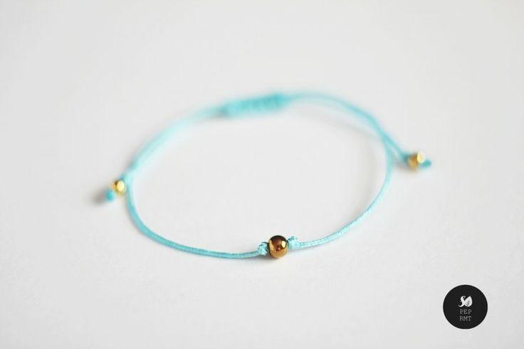 Twinkle - Tiny Ball (proj. sopeppermint), do kupienia w DecoBazaar.com #sopeppermint #sopeprmt #bracelet #jewelry #dainty #tiny #minimal