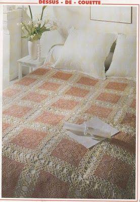 Ρομαντικές δαντελένιες κουβέρτες