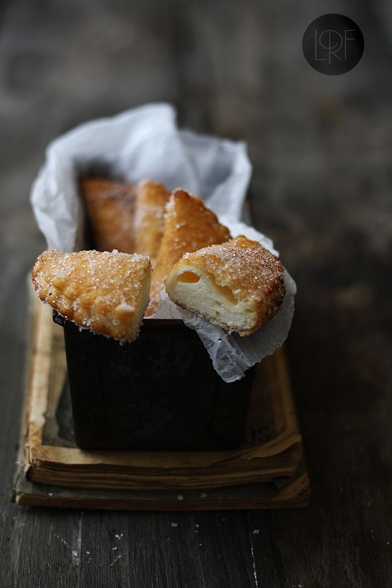 Fried ice-cream in puff pastry