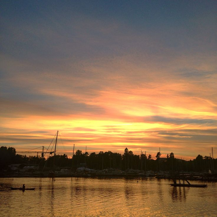 Sunset in Bgydøy, Oslo Norway