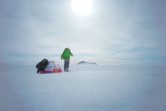 Felicity Aston, the first woman to ski solo across Antarctica