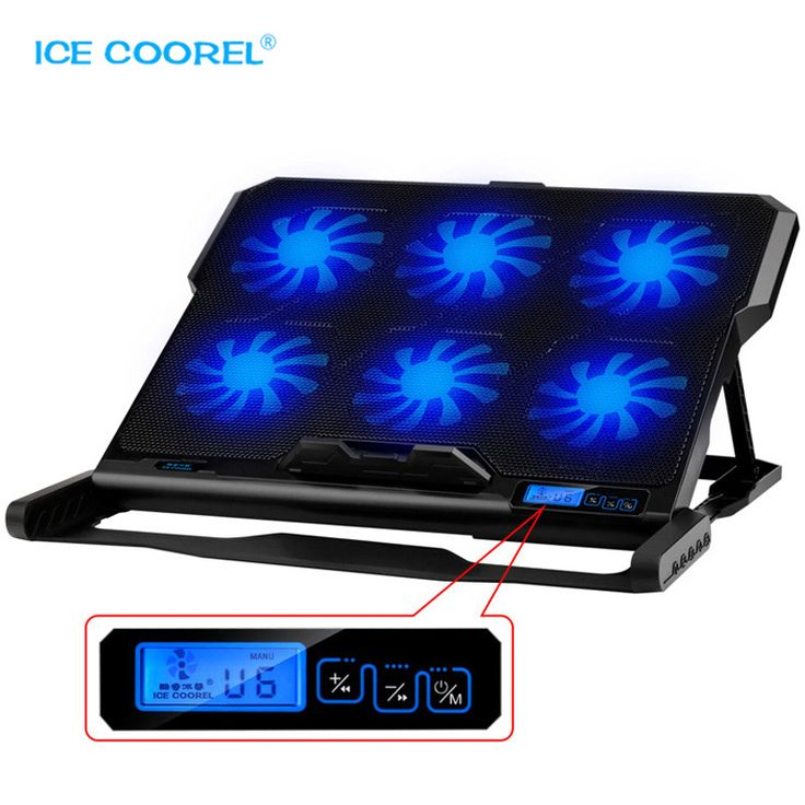 ==> [Free Shipping] Buy Best New Laptop cooler 2 USB Ports and Six cooling Fan laptop cooling pad Notebook Stand for 12-15.6 inch for Laptop Online with LOWEST Price   32820984483