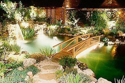 41 best hermes japanese garden images on pinterest for Koi pond lights
