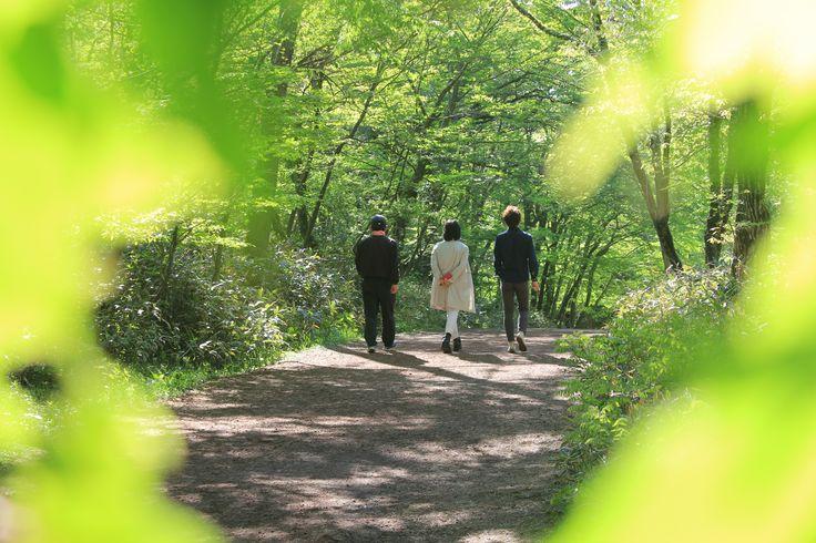 사려니숲    한가족