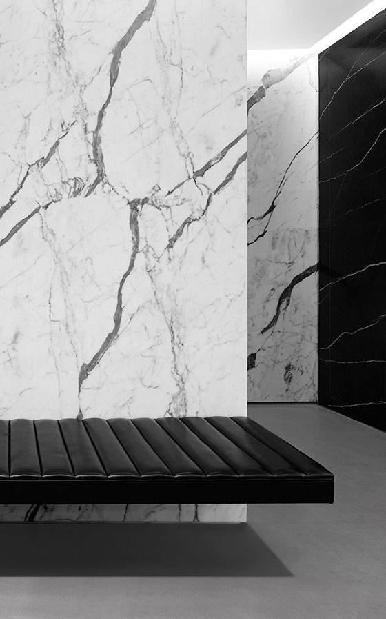 Saint Laurent new store in San Francisco by Hedi Slimane.