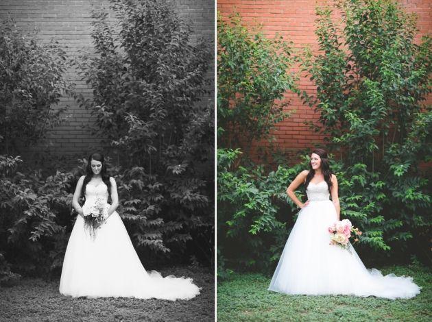 Outdoor garden bridals in Buda Texas