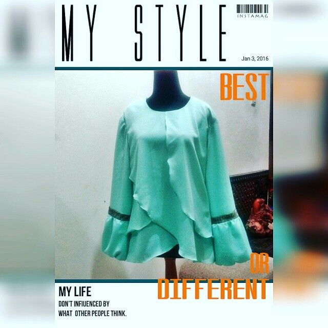 green tosca tulip blouse