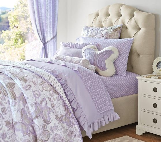 Evelyn Butterfly Quilt Kids Toddler Bed Bedroom Themes