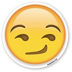 Smirking Face | Emoji Stickers