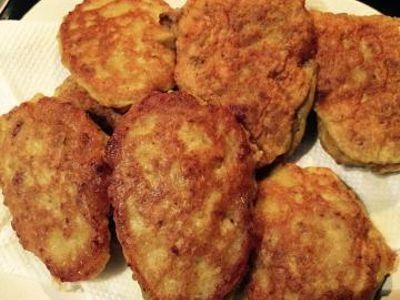 Corned Meat Fritters recipe