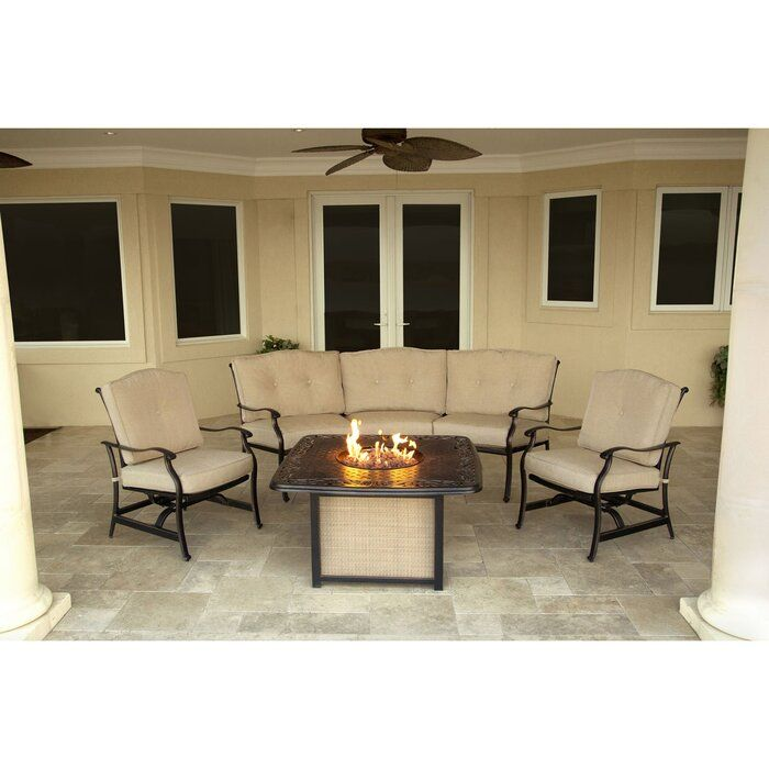 Shop On The Web Carleton 4 Piece Sofa Seating Group With Cushions Click Here Outdoor Lounge Set Seating Groups Outdoor Furniture Sets