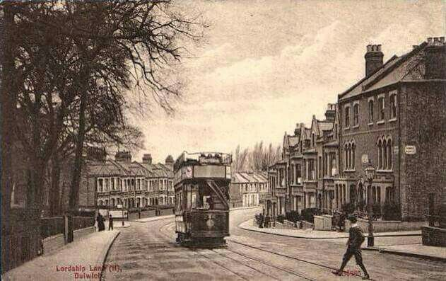 An Old Photo of Lordship Lane East Dulwich South East London England