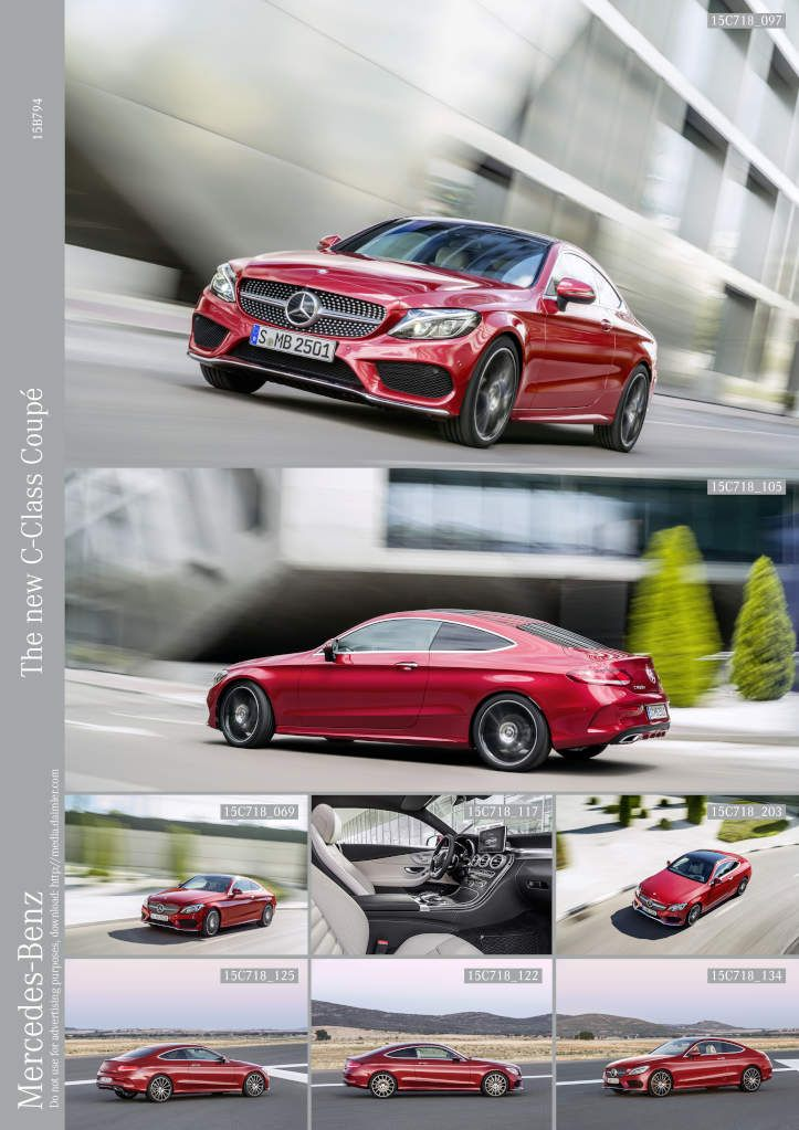 The new C-Class Coupé: Seduction of the heart and mind   Daimler Global Media Site > Brands & Products > Mercedes-Benz Cars > Mercedes-Benz Passenger Cars > C-Class > Coupé