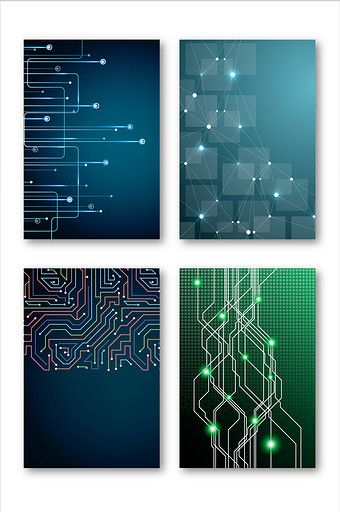 Minimalistic technology background board vector material#pikbest#Graphic Elements