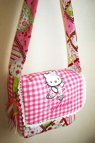 Zelf gemaakte tas