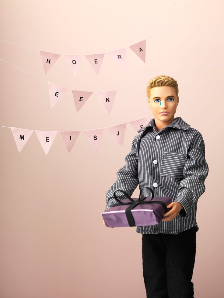 Human interest in JAN Magazine Photography by Frank Brandwijk | 'Hooray it's a Girl' 'Sad Barbie's Boy' 'Moved Ken' 'In Tears' 'Baby Shower Gift'