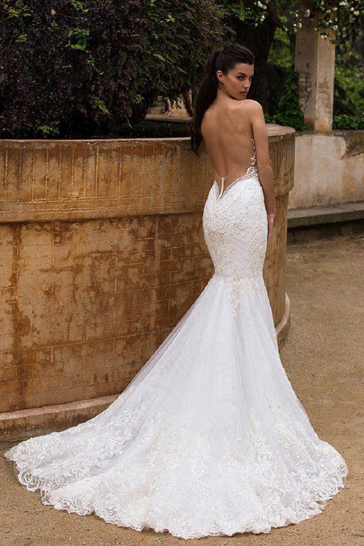 Deep opened back wedding dress - Milla Nova Wedding Dresses 2017 | itakeyou.co.uk #weddingdress #weddingdresss #wedding #bridalgown #weddinggown #weddinggowns #bridalgown #bridalgowns