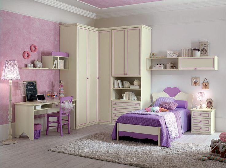 Traditional Italian Kids Bedroom Romantica R105 by Spar