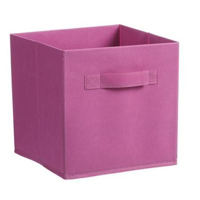 Pink collapsible storage cubes (3 pack)