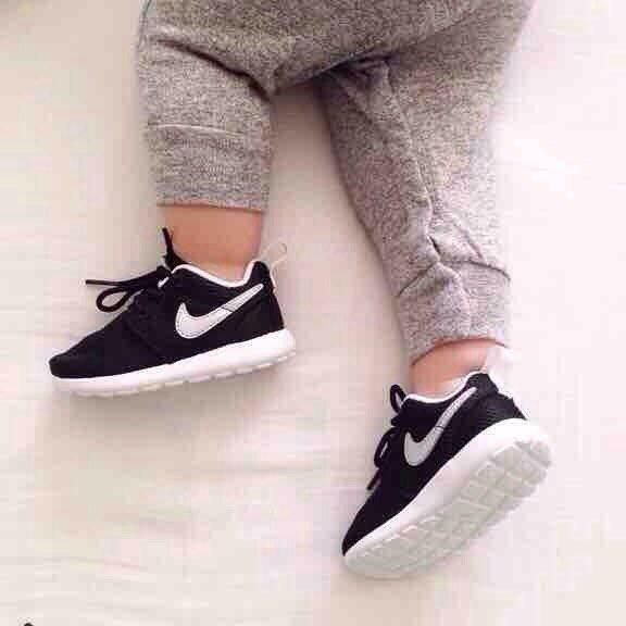 Baby Nikes. OMG.