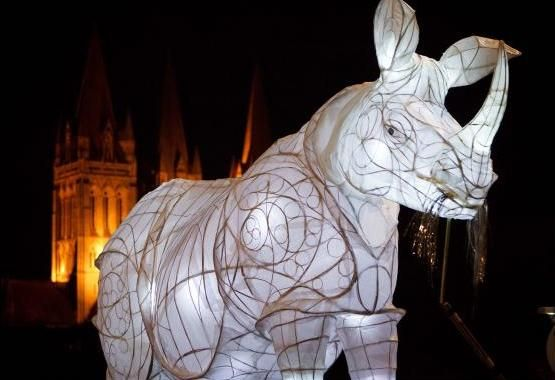 What is CITY OF LIGHTS ??  City of Lights returns to warm the cold streets of November this year with the glow of hand crafted paper lanterns.