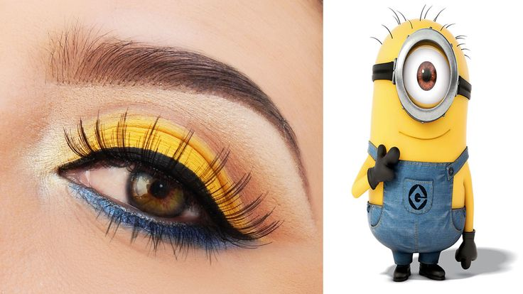 minion makeup - Google Search