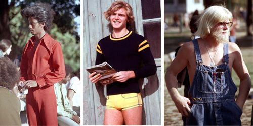 Check out these cool snaps to see how men's fashion from the 1970s was like.