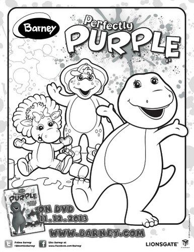 Marvelous Barney Coloring Book 62 Barney Colouring And Drawing