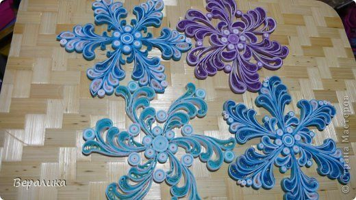 17 best images about quilling stelle snowflakes on