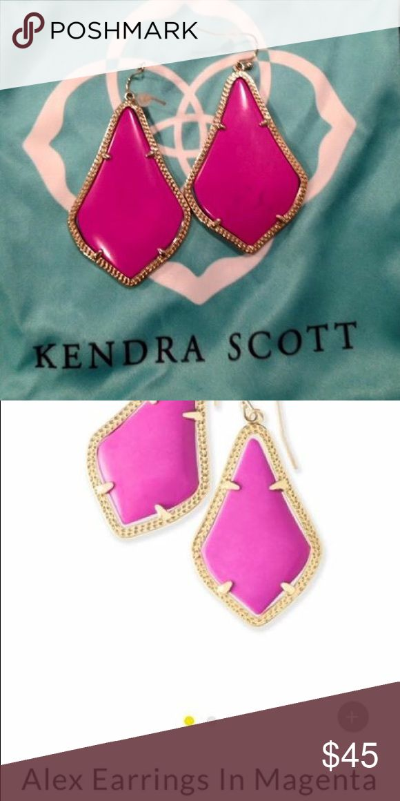 Kendra Scott Earrings Purchased off a local Facebook site. I never wore. EUC. Price Firm as I need to recoup what I spent on them. Kendra Scott Jewelry Earrings