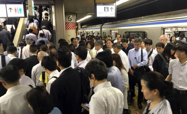 Riding packed commuter trains pressed against strangers may be one of the worst parts of living in Tokyo, made worse by groping and long delays from people