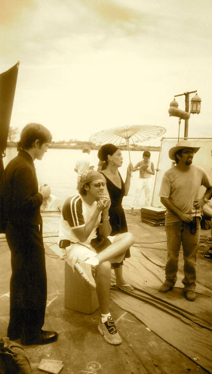 Con el director José Bojorquez y Sonia Braga/With director José Bojorquez and Sonia Braga.