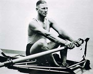 Bobby Pearce's Olympic gold medals in the single sculls from Amsterdam in 1928 and Los Angles in 1932