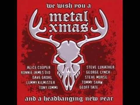 "▶ Alice Cooper - ""Santa Claws Is Coming To Town"" --- okay, not into heavy metal but thought what the hey!!!"